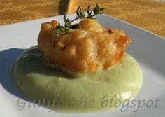Giuli Foodie, le mie ricette in cucina: Frittelle di Baccalà con Crema di Cavolfiore