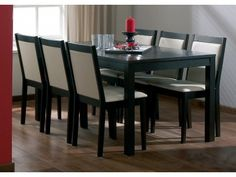 LPD Charlton Wenge Dining Set ( 1 Dining Table + 4 Chairs) £350.46