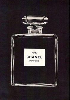 Vintage Chanel Print Ad