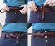 Womens Harbor Belt Leather от SanFilippoLeather на Etsy