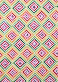 Diamond Zig-Zag Fabric- 1 Yard. $12.50, via Etsy.