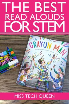 Kindergarten Stem, Preschool Books, Steam Activities, Book Activities, Stem Classes, Library Lessons, Stem Science, Stem Challenges, Stem Projects