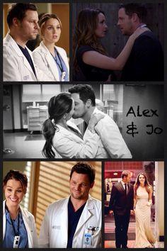 Alex and Jo 💗💗💗 Series Movies, Tv Series, Jo O'meara, Sacred Geometry Art, Geometry Tattoo, I Still Love Him, My Love, Greys Anatomy Alex, Alex And Jo