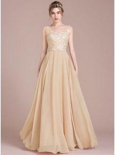 Vestidos princesa/ Formato A Decote V Longos Tecido de seda Renda Vestido de baile com Beading lantejoulas