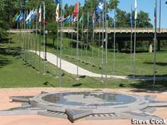 """Visit reports, news, maps, directions and info on """"Center of the Nation"""" Monument in Belle Fourche, SD."""