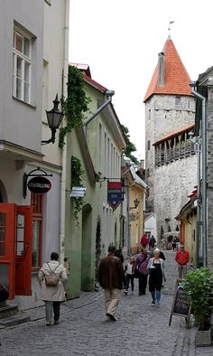 Tallinn Old Town, Estonia | by Michael Bk.