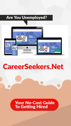 Are you unemployed? Chances are you need to redo your resume, cover letter and LinkedIn profile to meet the expectations of today's hiring manager. You also need to hone your interviewing skills and see if you qualify for a federal grant to help get additional skills you may need to be marketable and competetive. Get all the information you need for free at CareerSeekers.Net Interview Techniques, Interview Skills, Job Hunting Tips, Best Careers, Resume Tips, Private Sector, Marketing Jobs, Job Search, Good Job