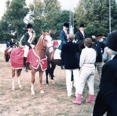 My late beloved daughter Alexandra Iuel-Brockdorff (Knirke) on Mr Bento winning first Nordic Championship in Dressage  of 5 in a row 1982. 2nd best friend Cecilia Wisen from Sweden !!