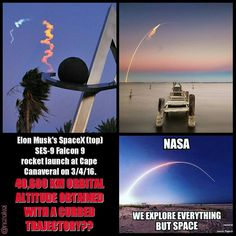 provocative-planet-pics-please.tumblr.com Lies lies all lies. #nasa #spacex #rocket #rockets #orbit #space #capecanaveral #launch #falcon #altitude #trajectory #lies #conspiracy #florida #stars #moon #sun #planets #orbital #explore #science #elonmusk #tesla #government #mindcontrol #fail #fails #earth #planeearth #flatearth by natakoi https://www.instagram.com/p/BCmrkkPPL1t/