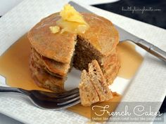 Celebrate Pancake Day with a Healthy Recipe Pancakes made with pork rinds oz. Chicharrones (Pork rinds) 2 Large Eggs c. Almond Milk or Coconut Milk - 1 tsp. Cinnamon 20 drops Liquid Stevia Ghee or Coconut Oil Low Carb Recipes, Real Food Recipes, Cooking Recipes, Yummy Food, Healthy Recipes, Cooking Tips, Diet Recipes, Cooking Dishes, Ketogenic Recipes
