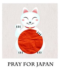 Pray for Japan... by *niladedeoglu on deviantART