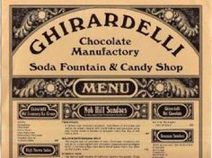 San Francisco, A History.: Ghirardelli Square | In the 1960s the chocolate manufacturing operation was sold and transferred to San Leandro. A group of San Franciscans, fearing Ghirardelli Square might be demolished, purchased the property.