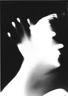 """Selbstportrait"", 1983, Floris Neusüss Shadow Photography, Fine Art Photography, Portrait Photography, Crowley Supernatural, Experimental Photography, Film Aesthetic, Black Silhouette, Contemporary Photography, Art And Architecture"