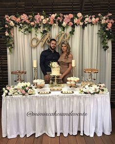 best Ideas for baby shower backdrop simple Engagement Decorations, Wedding Table Decorations, Bridal Shower Decorations, Wedding Centerpieces, Bridal Shower Backdrop, Trendy Wedding, Diy Wedding, Wedding Flowers, Wedding Tables