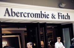 Abercrombie and Fitch!  I started shopping here a very long time ago. Now you and I are inseparable. :)