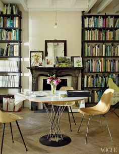 The Library is the protagonist on Miranda brooks Brooklyn Home