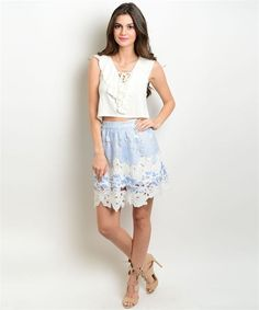 Outside The Box Skirt via PastelBlu. Click on the image to see more!