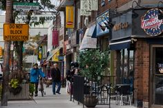 Bloor West Village is one of Toronto's true gems. Canada, Toronto High Park, Amazing Photos, Cool Photos, Toronto Neighbourhoods, Toronto Travel, Travel 2017, My Kind Of Town, City Scene