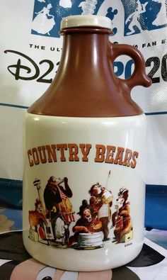 disney cups Disney World Country Bears Bear Jamboree Moonshine Jug Mug Cup Sipper NEW Disney Tassen, Country Bears, Disney Cups, Countries Of The World, Mug Cup, Walt Disney World, Disneyland, Mugs, Disney Stuff