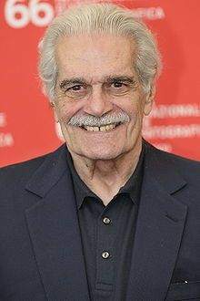 Omar Sharif, born Michel Demitri Chalhoub (10 April 1932 – 10 July 2015) was an Egyptian actor. He began his career in his native country in the 1950s, but is best known for his appearances in both British and American productions. His films included Lawrence of Arabia (1962), Doctor Zhivago (1965) and Funny Girl (1968). He was nominated for an Academy Award... Dr Zhivago, Doctor Zhivago, Most Handsome Actors, British Actors, Famous Faces, Actors & Actresses, Famous Celebrities, Celebs, Stories Of Success