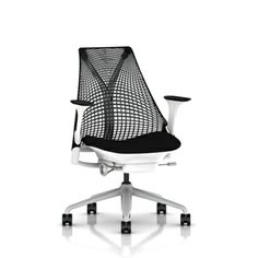 Sayl Side Chair with Sled Base - Office Chairs - Chairs - Herman Miller Official Store | 3T | Pinterest | Side chair Modern and Living rooms  sc 1 st  Pinterest & Sayl Side Chair with Sled Base - Office Chairs - Chairs - Herman ...