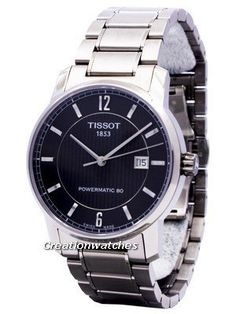 Tissot T-Classic Titanium Automatic T087.407.44.057.00 T0874074405700 Men's Watch