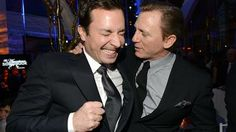 Jimmy Fallon bonds with Daniel Craig, and more Celeb Sightings