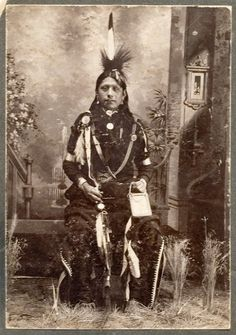 Native American Osage Indian | Osage man (dressed as an In-Lon-Schka dancer) ... | Native American I ...this is my fathers heiritage