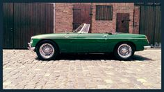 "MGB Open Tourer 1963 - ""pull handle"""