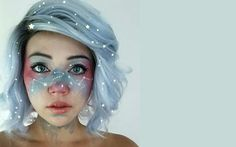Lots of inspiration, diy & makeup tutorials and all accessories you need to create your own DIY Galaxy Costume for Halloween.