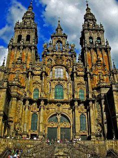 Catedral Santiago de Compostela via Flickr