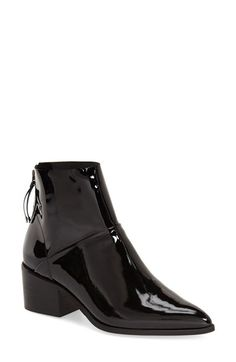 Topshop 'Midnight' Pointy Toe Boot (Women) available at #Nordstrom
