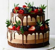 22 Ideas Fruit Cake Cupcakes Baking For 2019 Food Cakes, Cupcake Cakes, Oreo Cupcakes, Cake Fondant, Sweets Cake, No Bake Desserts, Delicious Desserts, Baking Desserts, Cake Baking