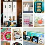 101 DIY Organization Ideas...a great way to organize without spending a ton! #diy #organize