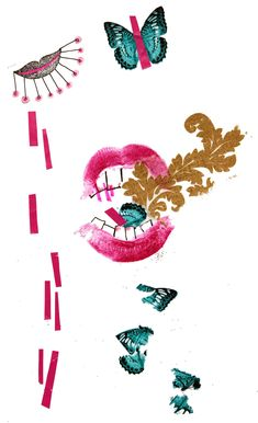 who's that lipstick? on Behance