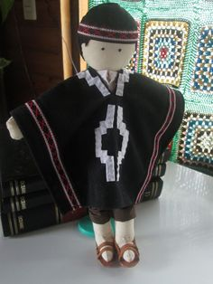 º de no leídos) - majosefao - Yahoo Mail Southern Cone, Native American Dolls, Felt Dolls, World Cultures, Needle Felting, Different Styles, Doll Clothes, Costumes, Crafts