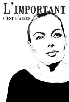 Romy Schneider poster