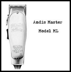 Andis Master Model ML Andis Clippers, Personal Care, Model, Self Care, Personal Hygiene, Scale Model, Models, Template
