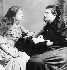 Helen Keller & Anne Sullivan
