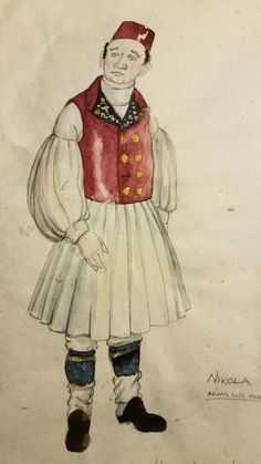Arms and the Man Costume design by Stephanie Toews  c1996