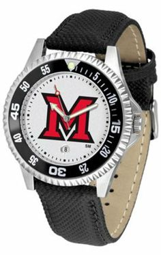 Miami (Ohio) RedHawks Competitor Men's Watch by Suntime SunTime. $74.55