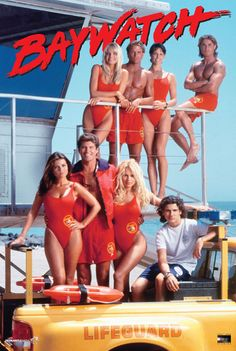 "Baywatch! woke up early every saturday with my daddy to drink my ""coffee"" mostly milk with a drop of coffee and sit in the big comfy recliner with daddy and watch this! probably 4 or 5...good times good times!"