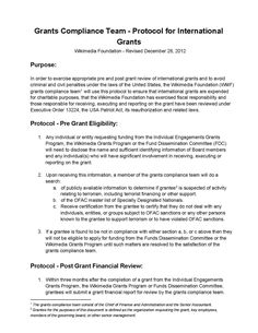 Grants Compliance Team - Protocol for International Grants - Wikimedia Foundation Governance Wiki Wmf, Pre And Post, Foundation, How To Apply, Oatmeal, Foundation Series, Overnight Oatmeal, The Oatmeal, Foundation Dupes