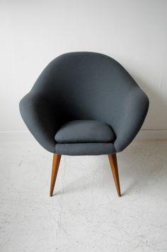 1950s Danish style Czech armchairs