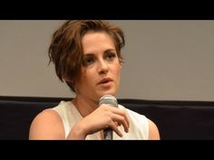 """Kristen Stewart and Juliette Binoche dissect their roles in Olivier Assayas's """"Clouds of Sils Maria"""" in a press conference during the New York Film Fest. Sils Maria, Juliette Binoche, Kristen Stewart, Lee Taylor, Clouds, People, Youtube, People Illustration, Youtubers"""