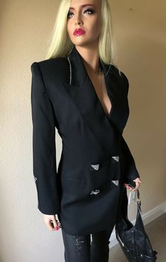 Tweed Blazer Evening Overcoat Ruffled Wool Colorful Blazer Open front Blazer Designer Jacket Elegant Jacket