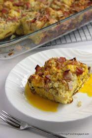 Adventures in all things food: Eggs Benedict Casserole - December Secret Recipe Club #Recipe