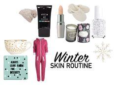 """winter skin care"" by daria-matei ❤ liked on Polyvore featuring beauty, Stila, Shiseido, Hamam, Essie, H&M, prAna and AX Paris"