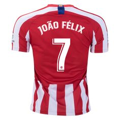 Atleti made the Portuguese phenom the fifth most expensive transfer in history. At almost 20 years old, Felix scored 20 goals last season for Benfica on the way to a P. Messi, Bola Nike, New Number, Soccer Stars, Europa League, 20 Years Old, Red And White Stripes, Champions League, Nike Men