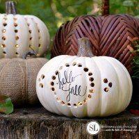 http://www.bystephanielynn.com/2016/09/drilled-craft-pumpkin-luminaries.html